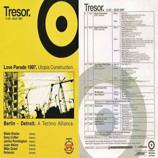 Frankie Bones @ Loveparade 1997 Utopia Construction - Tresor Berlin - 12.07.1997