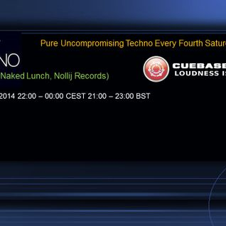Steve Morris Just Techno 2nd Edition Show (Cuebase-fm.de Sat 24/05/2014)