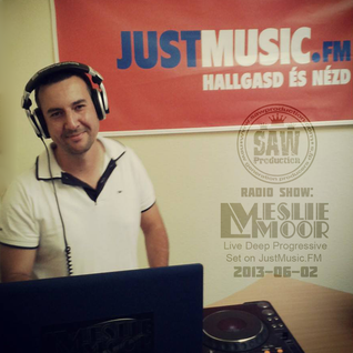 SawProduction Radio Show - Leslie Moor Live Deep Progressive Set on JustMusic.FM (2013-06-02)