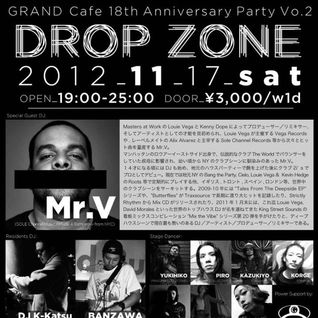 ScC002: Grand Cafe 18th Year Anniversary, Osaka Japan - Mr. V LIVE