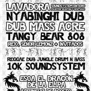 Tangy Bear 808 Live @ Guacamayo Bass - Esoa El Dragón, Madrid - 3 de agosto 2012