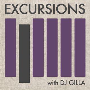 Excursions Radio Show #6 with DJ Gilla  - May 2012