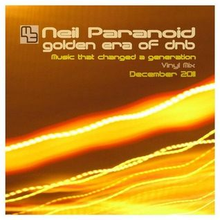 Neil Paranoid Golden Era of dnb Vinyl Mix 1994-95 in 320Kbps Tracklisted