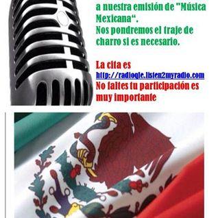"""Programa """"México Lindo y Que Rico"""", 13 de septiembre del 2014."""