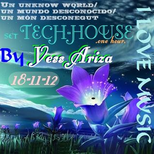 Yess Ariza @ Set .one hour. _TECH-HOUSE_  18-11-12