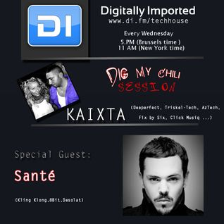 Kaixta -  Dig My Chili 045 (19 december 2012)-with Sante