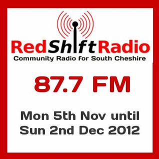 MIdweek Sports Hour on RedShift Radio - 31st October 2012