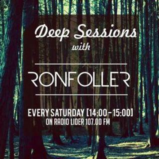 Deep Sessions with Ronfoller - 1st june 2013 - radio Lider 107.0 FM (Baku)
