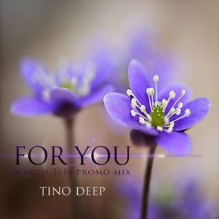 Tino Deep - For You  (March 2016 Promo Mix)