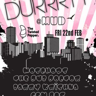 GEM_DOS DJ Set at Durrrty's 1st Birthday Party @ The Twisted Pepper 22.2.13
