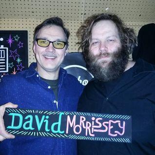 David Morrissey with Ólafur Darri Ólafsson (29/02/2016)