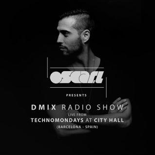 Oscar L Presents - DMix Radioshow September 2016 - Live at TechnoMondays City hall, Barcelona, Spain