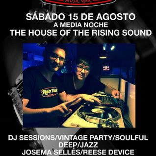 House Of The Rising Sound - Reese Device & Josema Selles (4ª Edicion Promo CD)