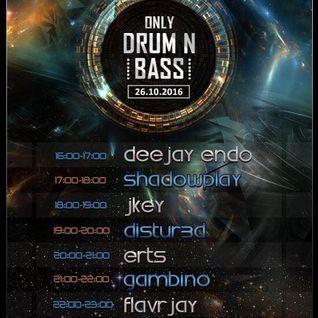 FLavRjay on OOS Radio, Only Drum n Bass Night 26-10-16