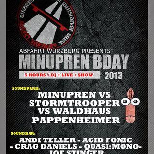 Quasi:Mono @ Minupren B-Day / Soundpark WZBG