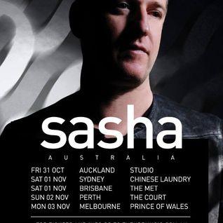 Sasha Live @ Melbourne - Prince Of Wales 2014
