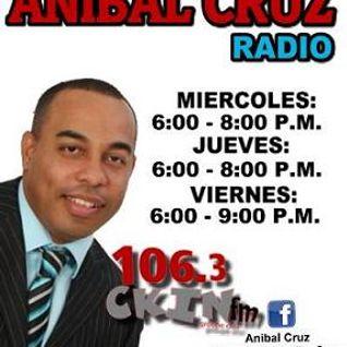 El Show de ANIBAL CRUZ 10 Octubre 2014