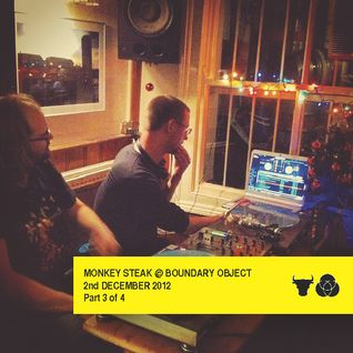 Monkey Steak Live at Boundary Object. 2nd Dec 2012. Part 3 of 4
