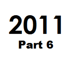 Great Tunes of 2011 - Part 6