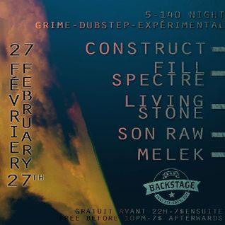 Living~Stone Live @ 5-140 Backstage Lounge MTL 2/28/16