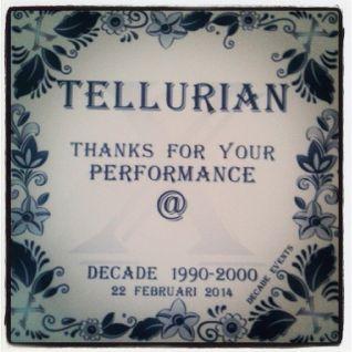 DJ TELLURIAN - B-Day House Classics Set @ DECADE 22-02-2014
