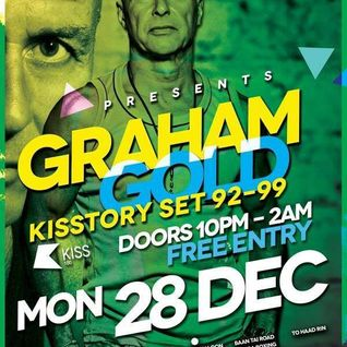 Graham Gold 5 hour classic house and trance recorded live at Ku Club Koh Phangan on Dec 28 2015