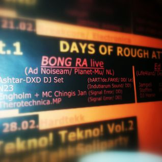 ashtar-DXD Dj Set at Days of rough attack pt.1