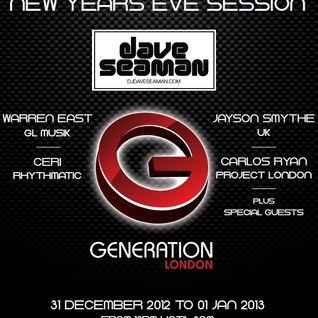 JOSEL - Generation London NYE promo mix