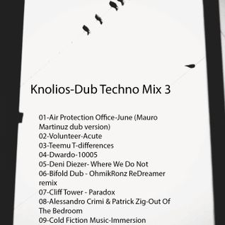 Knolios-Dub Techno Mix 3