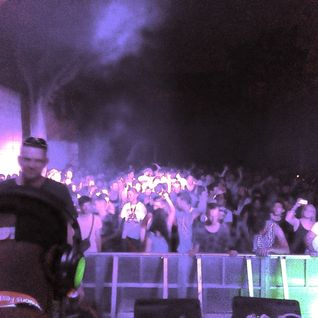 Randall @ Dispatch Recs Stage (History Lesson) Mungo' Arena Stage Feat Sense Dimensions Fest. 2015