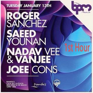 The BPM Festival 2015 - Saeed Younan Live at Mamita's Beach club (1st hour)