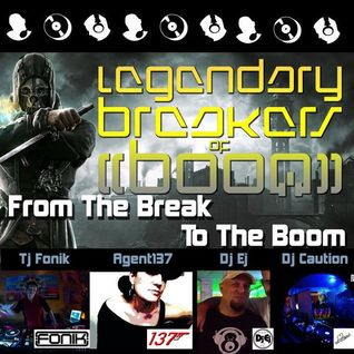 Fonik vs. Agent 137 vs. Dj Ej vs. DJ Caution - From The Break To The Boom