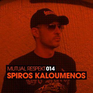 Mutual Respekt 014 with Spiros Kaloumenos
