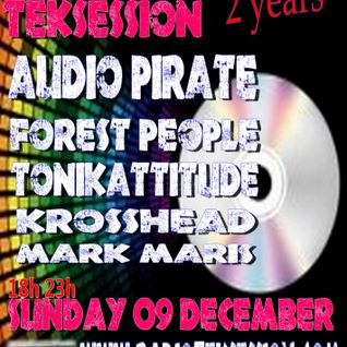 Radio teksessions 2nd Birthday Bash with audiopirate 09.12.12