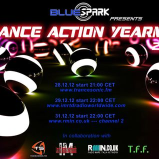 Dj Bluespark -Trance Action Yearmix 2012