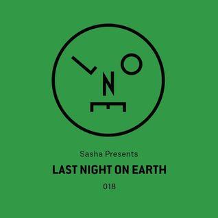 Sasha – Last Night On Earth - 018 (October 2016)