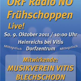 Radio-NÖ-Frühschoppen - live! - v. 09.10.2011 - Beginn - die ersten 18 Minuten