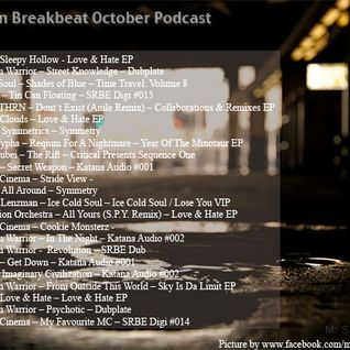 Berlin Breakbeat Podcast Oct 2012