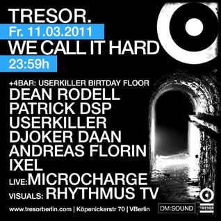 Andreas Florin@20 Years Tresor Berlin