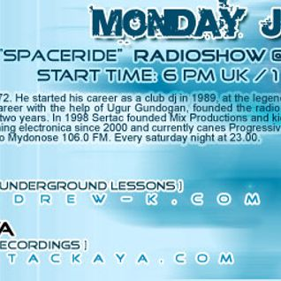 Andrew K & Sertac Kaya @ Space Ride, Eccentric Beats (14-Jun-2004)