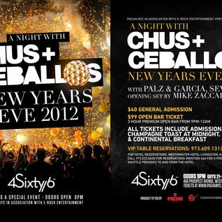 Chus & Ceballos - Live @ New Years Eve 2012, 4Sixty6 Club, New Jersey, E.U.A. (31.12.2011)