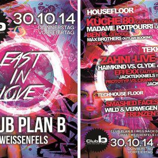 Zahni - Live @ Vorfeiertag - Club Plan B, Weißenfels - 30.10.2014 + | DOWNLOAD |