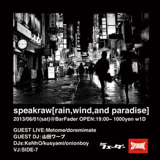 2013.06.01 speakraw DJmix