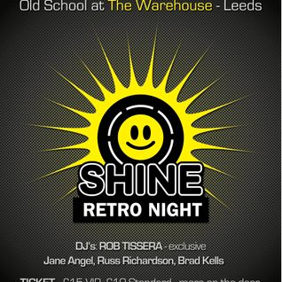 Brad Kells, Shine @ The Warehouse. Leeds 08-04-12