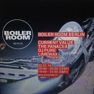 Limewax - live at Boiler room BERLIN 22.1.2014