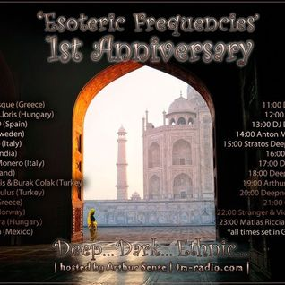 booya -  Esoteric Frequencies 1st Anniversary @ tm-radio.com (Guest Mix)