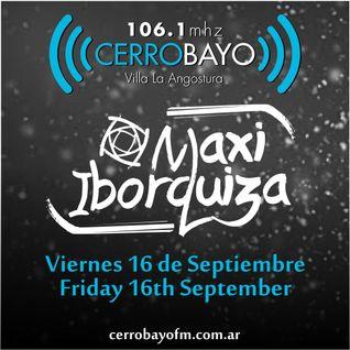 Maxi Iborquiza @ Cerro Bayo - Viernes 16 Septiembre | Friday 16th September