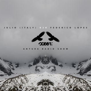 Antura Radio Show mixed by Julio (Italy) B2B Federico Lopes (10.12.2014)