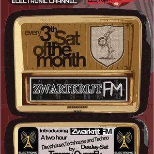 Strom: Kraft radio presents ZwartkrijtFM 001| Timmy Overdijk ( NL)