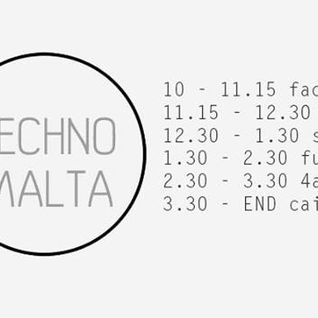 Hail BLk B2b Sonitus Eco - 6 Years of Techno Malta